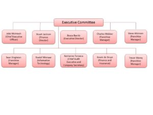 Group Structure - Board of Directors